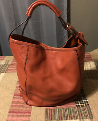 Cole Haan Bucket Handbag Rust $27.70