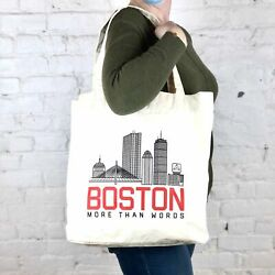 MTW Canvas Totes: Boston Skyline $19.49