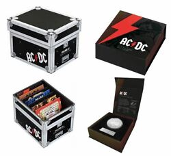 Set Of 2020/2021 Ac/dc 20c 7 Coin Collection Unc Coins + 1 Frosted Unc Acdc Ram