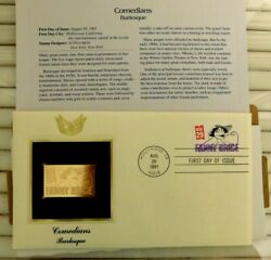 1991 Fanny Brice Burlesque Comedian First Day Issue Stamp Cover Set