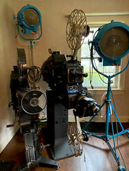 Vintage 1930s 1940s Movie Theater Projector - Simplex E-7 - Fairview Theater