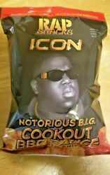 New Rap Snacks Icon Notorious B.i.g Cookout Bbq Sauce 2.75oz