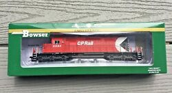 Bowser Ho 1/87 Scale Cp Rail Gmd Sd40-2 Dcc And Sound Road 5594 F/s 24140 New