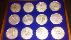 Salvador Dali- Twelve Tribes Of Israel Silver Coins.
