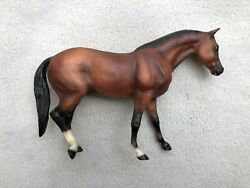 Breyer BreyerFest Horse #710503 The Lark Ascending Rugged Quarter Signed SR 500