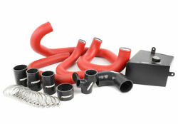 Perrin Front-mount Intercooler Kit For 15-17 Wrx - Silver Core Red Piping
