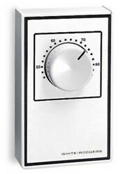 White Rodgers 1A65 641 Grey Line Voltage Wall Mechanical Thermostat