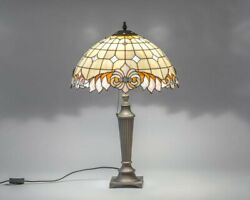 Style Table Lamp Classic Stained Glass Art Bespoke Glass