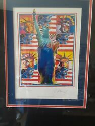 Peter Max God Bless America 2009