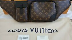 Auth Louis Vuitton Christopher Bumbag Monogram Rare Sold Out Only 1 On Ebay