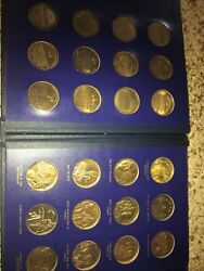 The Legacy Of John Fitzgerald Kennedy Bronze Set Coins