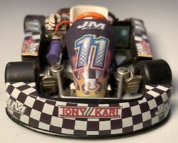 Tony Kart Jm Racing 11 Diecast Toy. Played With Condition. Good Shape.