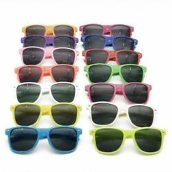 Bulk Customisable 48 Pack Of Classic 80's Style Adult Sunglasses, Uv400 Rated, W