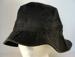 Black Bucket Hat Foot Locker Size S M $9.99