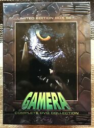 Gamera - The Complete Collection Dvd 2004 3-disc Guardian Series Oop Rare Set