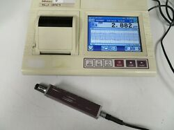 Mitutoyo Sj-310 Profilometer Surface Finish Tester Complete Tested Surftest Nz4