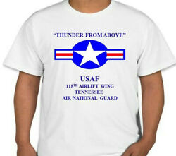 118th Airlift Wing Tennessee Air National Guard Usaf Star Shirt/sweatshirt