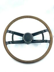 Extremely Rare Early Porsche 901 911 All Original Wood Steering Wheel