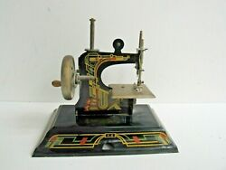 Vtg Art Deco Casige 116 Childs Toy Sewing Machine Made In Germany