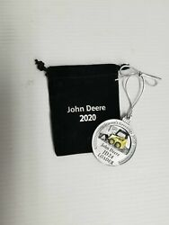 LP76689 John Deere OEM 2020 Pewter Christmas Ornament $34.99