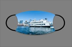 Seattle Fairy Boat Custom Face Mask With Filter Pocket 1012858