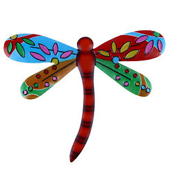 Iron Dragonfly Hanging Pendant Wall Art Decor Wall Decoration Home Ornament