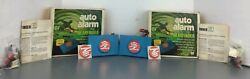 Vintage Bearfinder Auto Alarm Car Truck Lot Of 2 Installs In Minutes Solid State