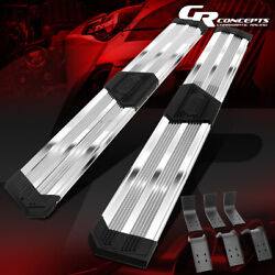 J2 10 Wide Pleated Running Boards For 2009-2020 Dodge Ram Pickup Extended Cab
