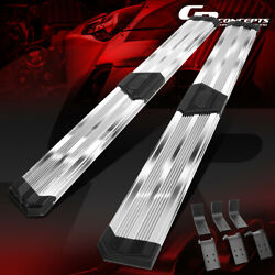 J2 10 Wide Ss Pleated Running Boards For 2009-2020 Dodge Ram Pickup Crew Cab