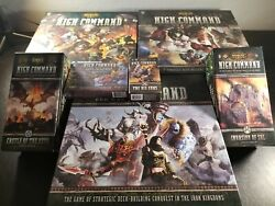 High Command Lot Castle Of Keys, Invasion Of Sul, The Big Guns, Rapid Eng.