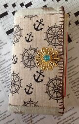 Mini Junk Journal Diary Canvas Cover, Lots Of Pages Cool Stuff And Surprises