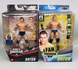 Wwe Mattel Elite Randy Orton Decade Of Domination And Fan Takeover Set Of Two