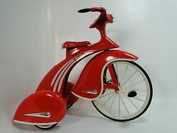 Tricycle Too Small For Child To Ride On Miniature Metal Frame Collector Model