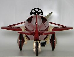 Pedal Car Ww2 Plane Too Small For A Child Ride On Miniature Metal Body Model