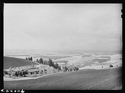 View From Winchester Hillnez Perce Countyidahoidfarm Security Adminfsa