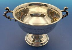 Reed And Barton Sterling Silver Trophy 1956