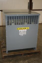 New Square D 150 Kva Transformer Exn150t3h 480d 208y/120 3 Phase