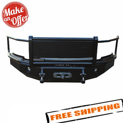 Iron Cross 24-915-04 Hd Front Bumper W/ Grille Guard For 2004-2015 Nissan Titan