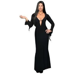 Morticia Addams Costume Adult Plus Size Vampire Halloween Fancy Dress