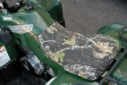 Yamaha Grizzly 660 02-up Camo Or Black 4 Wheeler Seat Cover - American Made