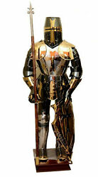 Medieval Knight Collectible Suit Of Templar Toledo Armor Combat Full Body