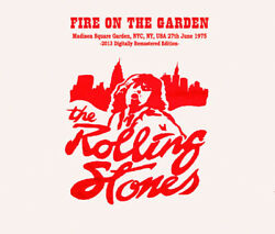 Rolling Stones Fire On The Garden 3cd Invisible Works Records Iwr-106 Angie