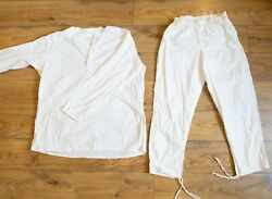 Authentic Jacket Pants Russian Underwear Ussr Soldiers Soviet Army Size 46 S/m