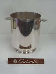 Christofle Bucket A Champagne Executive Board - Very Beautiful Condition