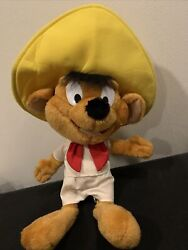 Ace Looney Tunes Plush Speedy Gonzales Doll 9 Play By Play 1997
