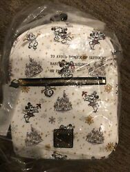 Disney Parks 2020 Holiday Christmas Backpack By Dooney And Bourke In Hand