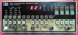 Hp 8116a 50 Mhz Pulse/function Generator Sn2516a02121