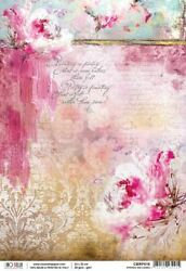 Ciao Bella Rice Paper Sheet A4 5/pkg-spring Melodies, Sound Of Spring -cbrp016