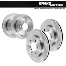 For 2011 2012 2013 Infiniti Qx56 Front 350 Mm And Rear 350 Mm Brake Rotors Kit