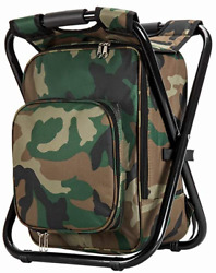 Upgrade Large Size Ultralight Backpack Cooler Chair Portable amp; Folding Camping $50.38